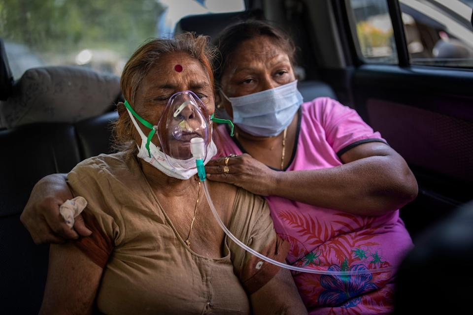 Virus Outbreak India's Oxygen Crisis Photo Gallery (Copyright 2021 The Associated Press. All rights reserved.)