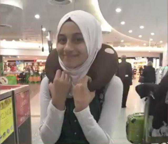 Melbourne schoolgirl Zynab Al Harbiya was killed in a suicide bombing in Baghdad. Source: Supplied