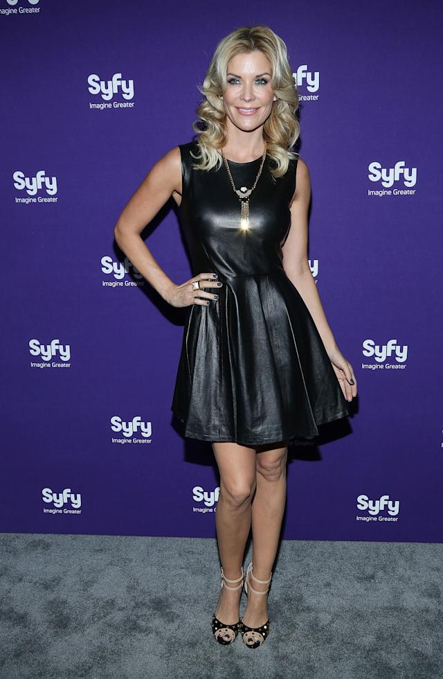 "NEW YORK, NY - APRIL 10: McKenzie Westmore of ""Face Off"" attends Syfy 2013 Upfront at Silver Screen Studios at Chelsea Piers on April 10, 2013 in New York City. (Photo by Rob Kim/Getty Images)"