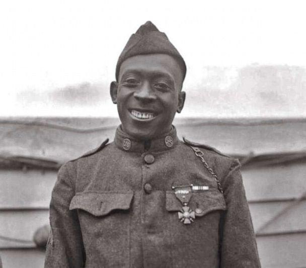 PHOTO: Sgt. Henry Johnson of the 369th Infantry Regiment was one of the first Americans to awarded the French Croix de Guerre, France's highest award for valor, for his bravery during an outnumbered battle with German soldiers. (U.S. ARMY)
