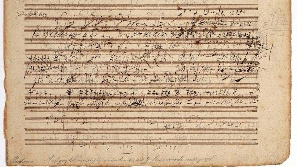 Appraiser Describes Finding Beethoven Sketch Leaf in Connecticut Home (ABC News)