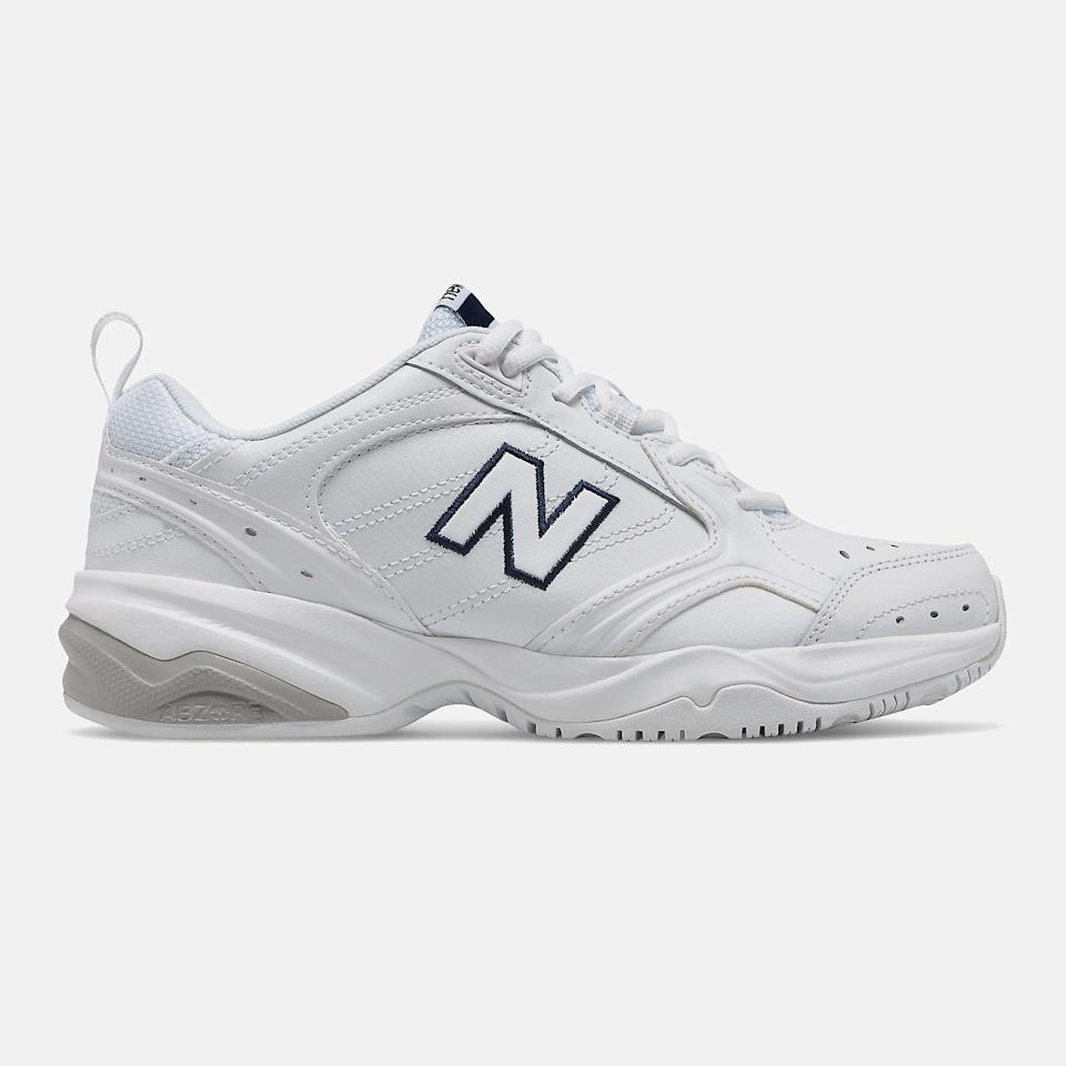 """<p><span>New Balance 624 Sneakers</span> ($75)</p> <p>""""They are my life now. I walk the extremely thin line between """"super knowledgeable fashionista who loves streetwear"""" and """"dad"""". Also if these ever go out of style I can save them in the back of my closet for when I am old, frail, and in need of arch support. It's a win-win."""" - Renee Rodriguez, executive assistant and contributor </p>"""