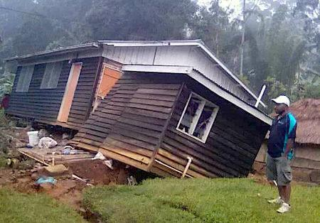 PNG quake assessment hindered by damage