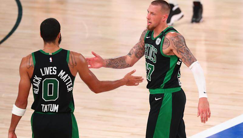 Daniel Theis delivers as Celtics stay alive with Game 5 win over Heat
