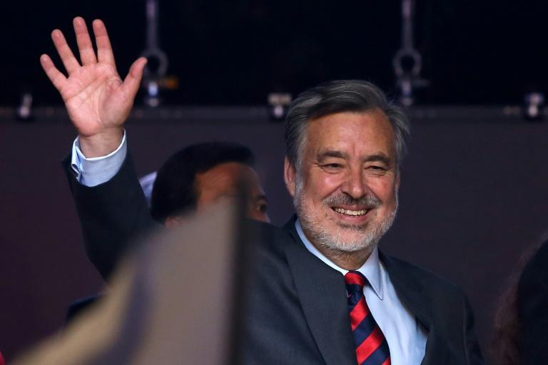 Chilean presidential candidate Alejandro Guillier is an independent supported by President Michelle Bachelet's Socialist party