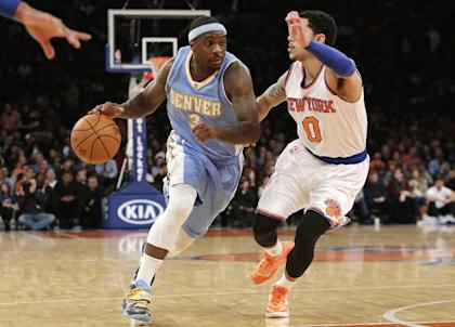 Ty Lawson (left) has been arrested twice in the past six months. (AP)