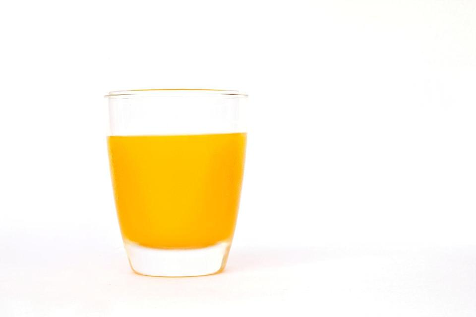 <p>Essentially a concentrated source of sugar and calories, fruit juice is void of any fiber and takes out much of the nutritional benefits of eating the fruit in its whole form. </p>