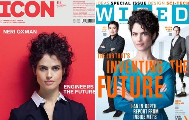 She's graced the cover of several magazines - just like her famous man. Source: Wired/Icon