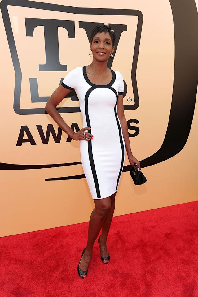 """Roshumba Williams arrives at the <a href=""""/the-8th-annual-tv-land-awards/show/46258"""">8th Annual TV Land Awards</a> held at Sony Studios on April 17, 2010 in Culver City, California. The show is set to air Sunday, 4/25 at 9pm on TV Land."""
