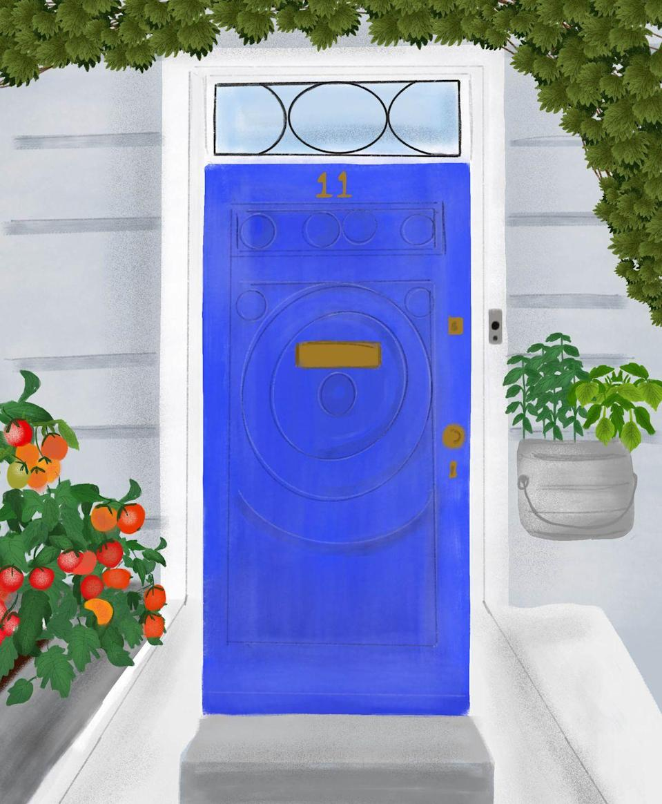 "<p>Aquarius' are lovers of water, so, naturally, their favourite door colour is blue. Unique and arty, they want their home entrance to stand out. </p><p>'You love gadgets and will no doubt have a high-tech alarm, lighting, and doorbell for your home entrance. Abstract art also attracts you, along with distinctive, modern pieces that raise questions and provoke thought.'</p><p><strong>Lucky house number:</strong> 11<br><strong>Key colours:</strong> Neon colours, particularly electric blue. Combine with silver for a true reflection of your sign.</p><p><strong>READ MORE</strong>: <a href=""https://www.housebeautiful.com/uk/lifestyle/shopping/g28433446/home-security-cameras/"" rel=""nofollow noopener"" target=""_blank"" data-ylk=""slk:7 of the best home security cameras to buy now"" class=""link rapid-noclick-resp"">7 of the best home security cameras to buy now</a></p>"