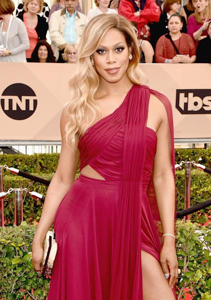 'Orange Is the New Black' and 'Rocky Horror Picture Show' actress Laverne Cox emptied out her Zac Posen tote for 'Us Weekly' — see what's inside!