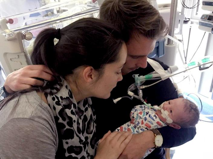 <p>East Kent NHS admitted to failing Sarah Richford and her baby, Harry in 2017</p> (Richford family)