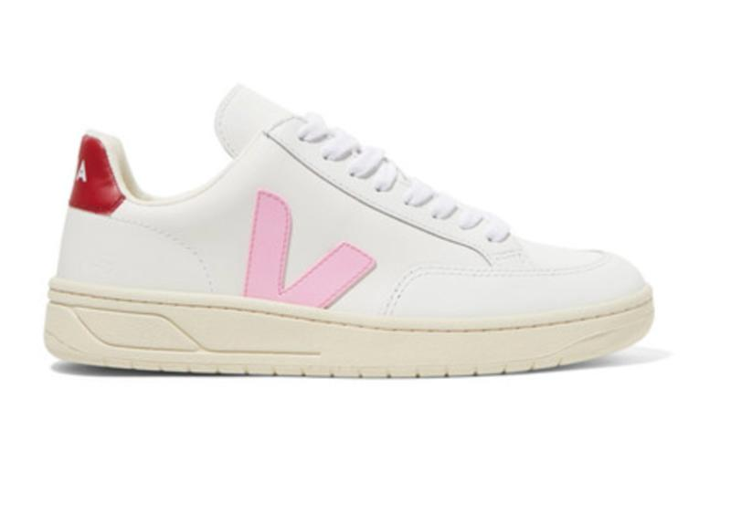 V-12 leather sneakers. (Photo: Net-A-Porter)