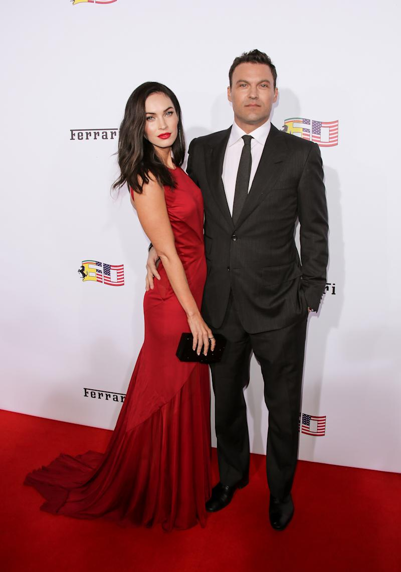 Fox with husband Brian Austin Green. (Photo by Paul Archuleta/FilmMagic)