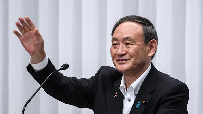 Yoshihide Suga poised to become Japan's next PM
