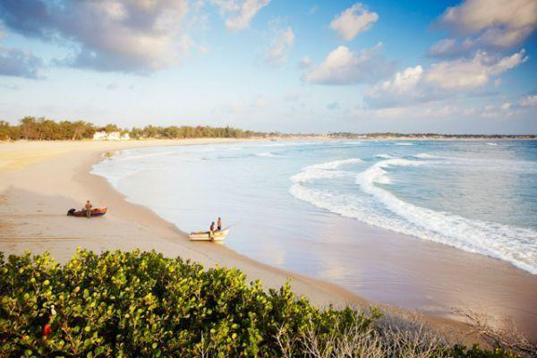 """<p><strong>Tofo Beach, Mozambique</strong></p><p>If you're looking for a truly unforgettable beach vacation, consider looking no further than the ice-blue oceans and sandy shores of Tofo Beach, Mozambique. Fly into nearby Inhambane (you'll have to connect at Johannesburg) and take a 30-minute bus ride to the relatively undisturbed shoreline of Tofo. Enjoy fresh seafood from local fisherman and, if you're daring, go ahead and get a scuba certification at one of Tofo Beach's multiple diving spots. Getting to the beach will be a bit of a trek, but it will be worth it for its relatively undeveloped appeal.</p><span class=""""copyright"""">Photo: Getty Images.</span>"""