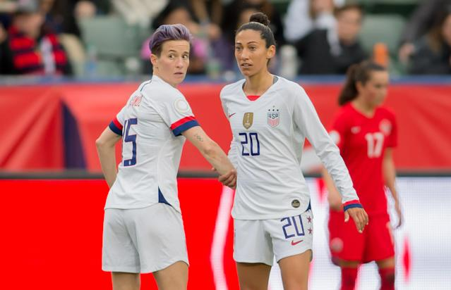 U.S. Soccer is taking precautions to protect against the coronavirus impacting this week's SheBelieves Cup. (Photo by Michael Janosz/ISI Photos/Getty Images)