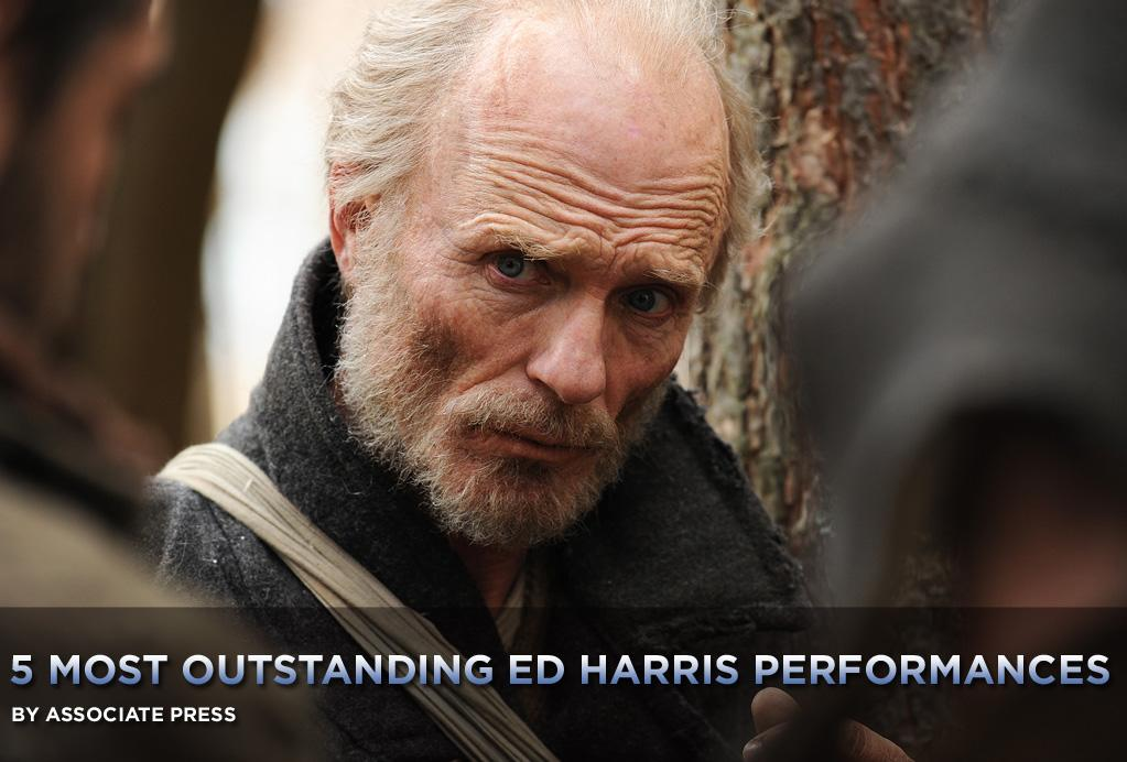 "Here's how consistently good Ed Harris is: He easily could have merited a list of 10 best performances, not just the five we do each week here.   It was tough to narrow it down. His performances in ""Gone Baby Gone"" and ""A Beautiful Mind"" are just a couple that have stood out over his three-plus decades of work but didn't make the cut. And so with <a href=""http://movies.yahoo.com/movie/1810186164/info"">The Way Back</a> expanding into more theaters this week, we had the daunting task of selecting the <a href=""http://movies.yahoo.com/news/movies.ap.org/5-most-outstanding-ed-harris-performances-ap"">five most outstanding Harris performances:</a>"