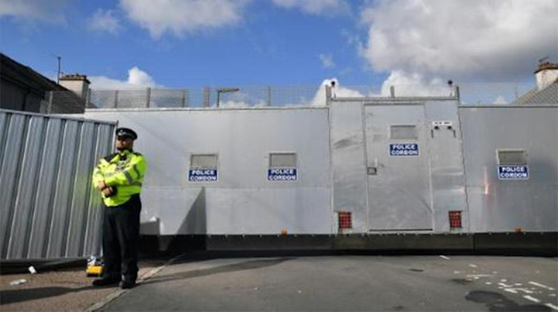 A fences has been erected around the house where the man's foster carers live. Source: AAP