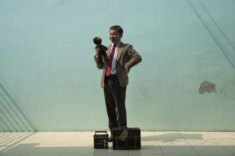 Mongkol Preechajan, Thailand's Mr. Bean, rehearses before performing for prison inmates as the popular British TV comedy character