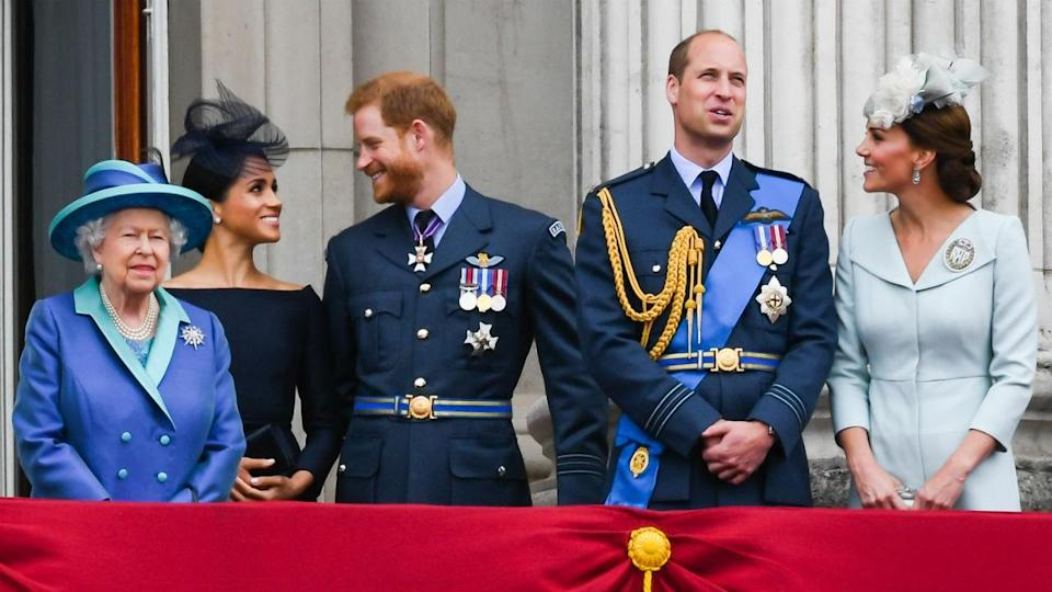 The Duke and Duchess of Sussex publicly announced they were expecting their first child on Monday.