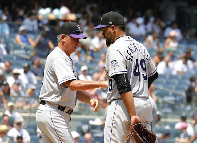 Yankees continue their ascension as Rockies' spiral continues in blowout