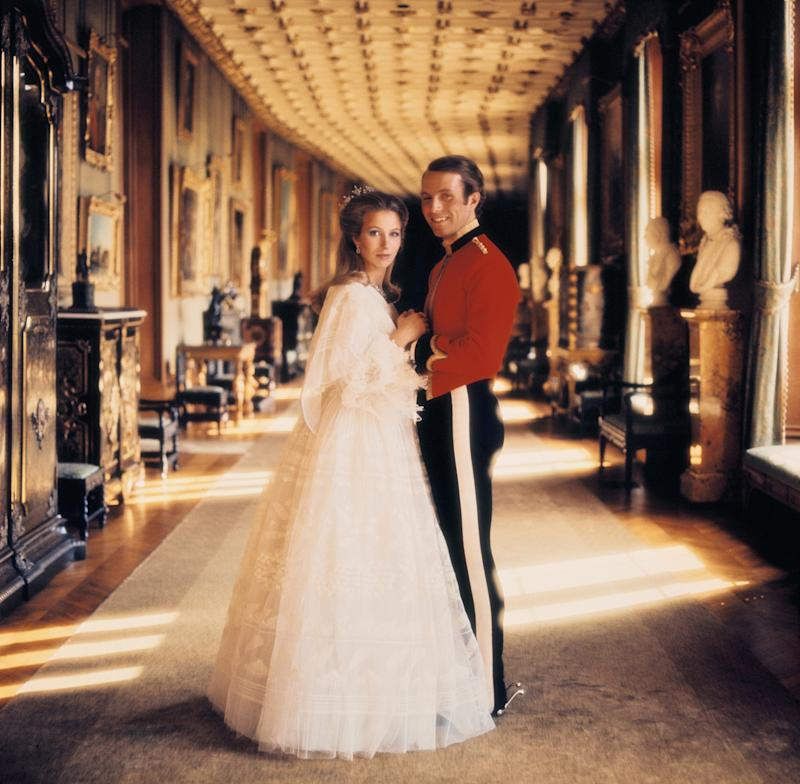 Princess Anne and Mark Philips Engagement In London On 1973. Photo by Keystone-France/Gamma-Keystone via Getty Images.