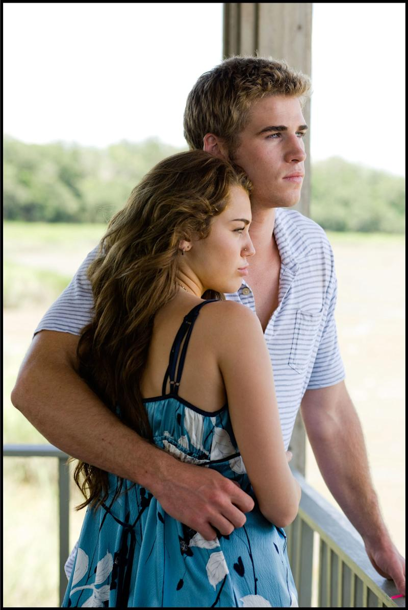 Cyrus and Hemsworth in 2010's The Last Song