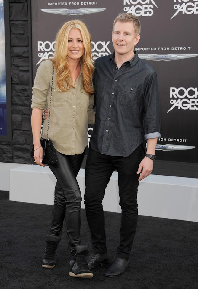 HOLLYWOOD, CA - JUNE 08:  Cat Deeley and Patrick Kielty arrive at the 'Rock of Ages' Los Angeles premiere at Grauman's Chinese Theatre on June 8, 2012 in Hollywood, California.  (Photo by Gregg DeGuire/WireImage)