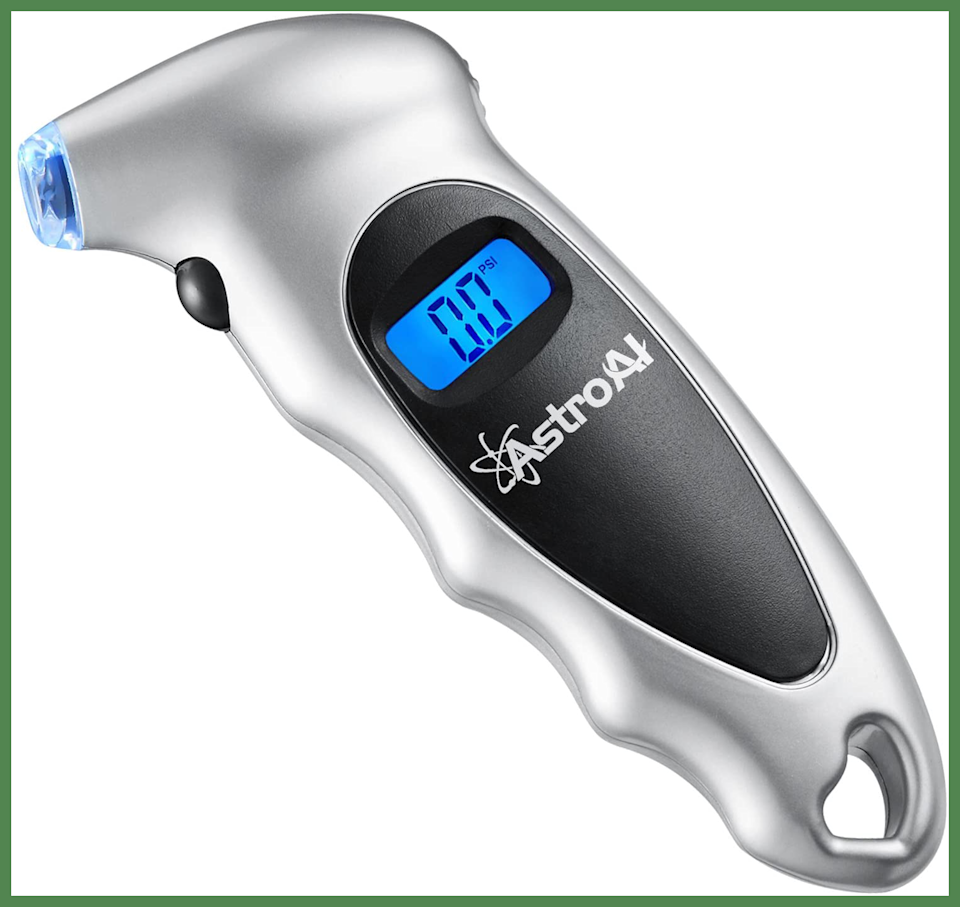For Prime members only: Save $3 on this AstroAI Digital Tire Pressure Gauge. (Photo: Amazon)