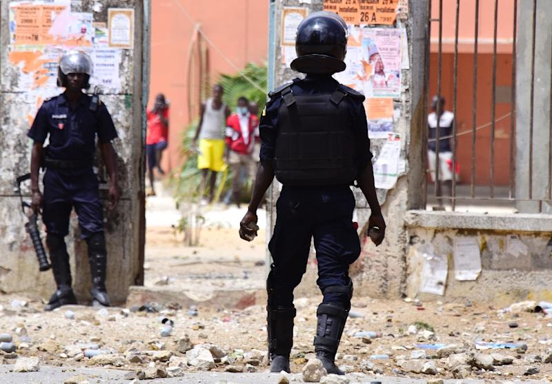 New clashes between students and police erupted at several universities across Senegal on Wednesday (AFP Photo/SEYLLOU)