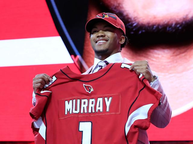 The Arizona Cardinals picked Kyler Murray No 1 overall: Getty Images