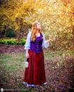 """<p>A maiden outfit is a festive Renaissance Halloween costume that you can have fun accessorizing however you'd like.</p><p><strong>See more at <a href=""""https://www.instagram.com/p/BzqYnKuDV37/"""" rel=""""nofollow noopener"""" target=""""_blank"""" data-ylk=""""slk:@wanderings_in_wonderland"""" class=""""link rapid-noclick-resp"""">@wanderings_in_wonderland</a>.</strong></p><p><strong><a class=""""link rapid-noclick-resp"""" href=""""https://www.amazon.com/Kranchungel-Vintage-Underbust-Bustier-Bodyshaper/dp/B07HHQCWYR?tag=syn-yahoo-20&ascsubtag=%5Bartid%7C10050.g.22985658%5Bsrc%7Cyahoo-us"""" rel=""""nofollow noopener"""" target=""""_blank"""" data-ylk=""""slk:SHOP CORSETS"""">SHOP CORSETS</a></strong></p>"""