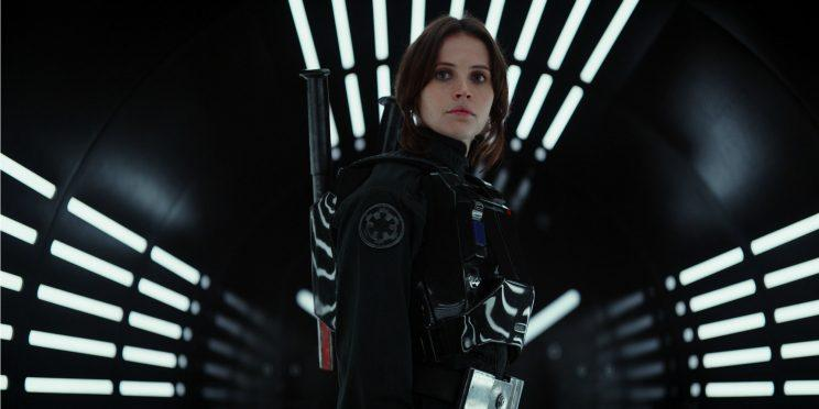 Felicity Jones in Rogue One [Image via Lucasfilm]