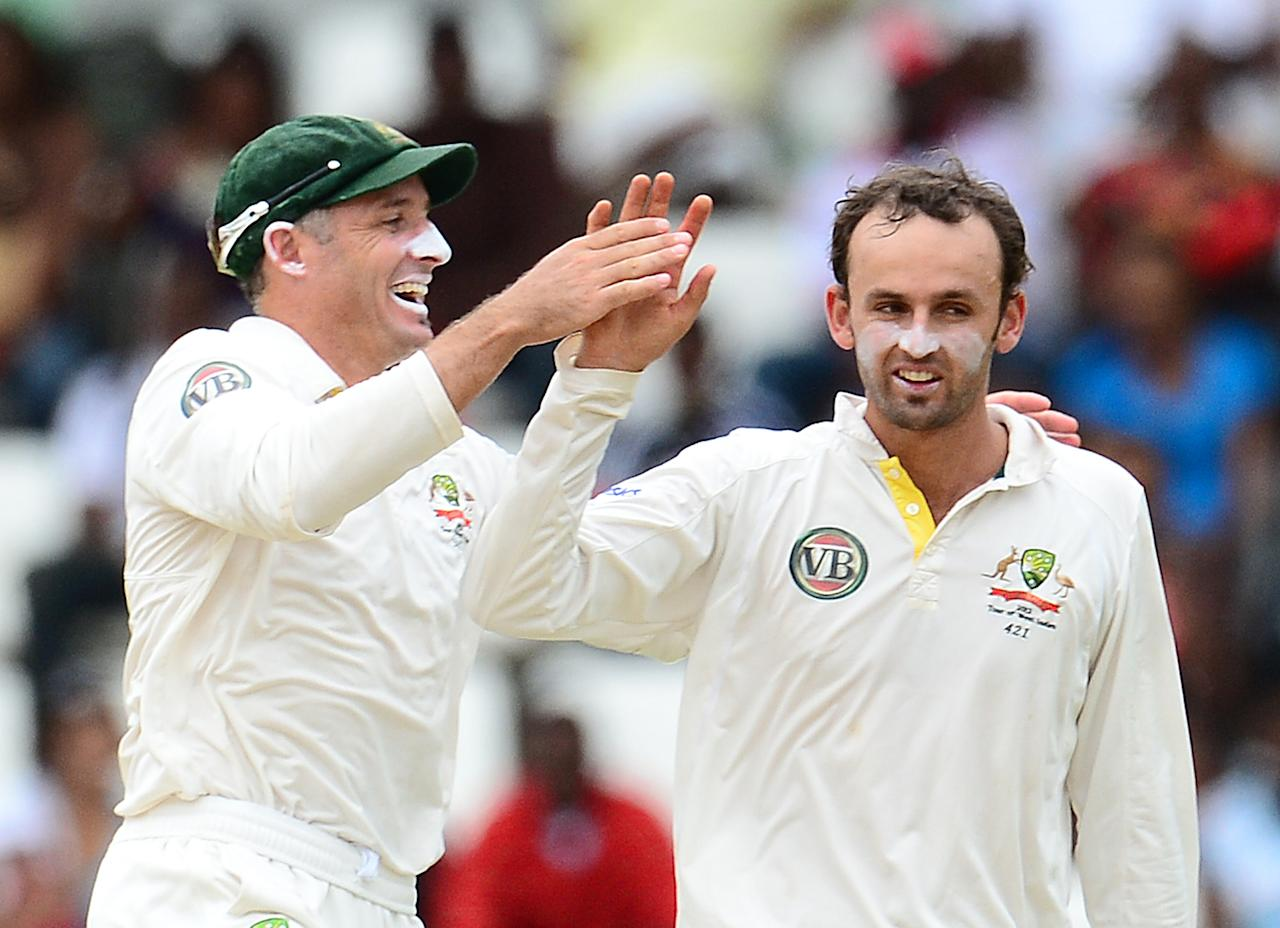 Nathan Lyon: The 24-year-old off-spinner took some heat off him by taking 13 wickets in the series at an average of 25.92 even as he kept a tight lid on the flow of runs. Lyon will take a lot of confidence from his performances in the Caribbean.
