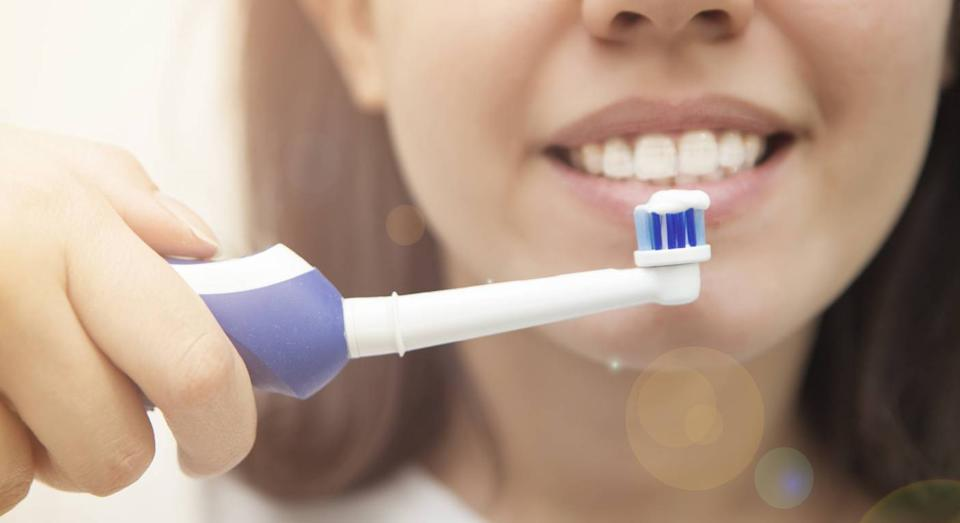 This Oral B toothbrush is now 74% off. (Getty Images)