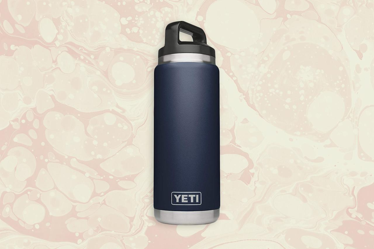 "<p>First and foremost, when you're making a list of what to pack for a cruise, make sure to bring a <a href=""https://www.cntraveler.com/gallery/best-reusable-water-bottles-stainless-insulated?mbid=synd_yahoo_rss"">reusable water bottle</a>. It'll save you from buying water bottles every time you get off the ship and is nice to have on board—not to mention better for the environment. Fill it up with water or coffee from the pool deck or buffets; most are open all day and well into the night. One exception to this rule: Those sailing on <a href=""https://www.cntraveler.com/story/oceania-cruises-announces-remastered-ralph-lauren-suites?mbid=synd_yahoo_rss"">Oceania</a> receive a free reusable Vero Water bottle upon embarkation. For others, we recommend Yeti's insulated stainless steel water bottle; it comes in a dozen colors, can be used to keep water cold and coffee or tea hot, and is lightweight on its own.</p> <p><strong>Buy Now:</strong> Yeti 26-Ounce Stainless Steel Bottle, $40 at <a href=""https://amzn.to/2sf6ClS"" rel=""nofollow"" target=""_blank"">amazon.com</a></p>"