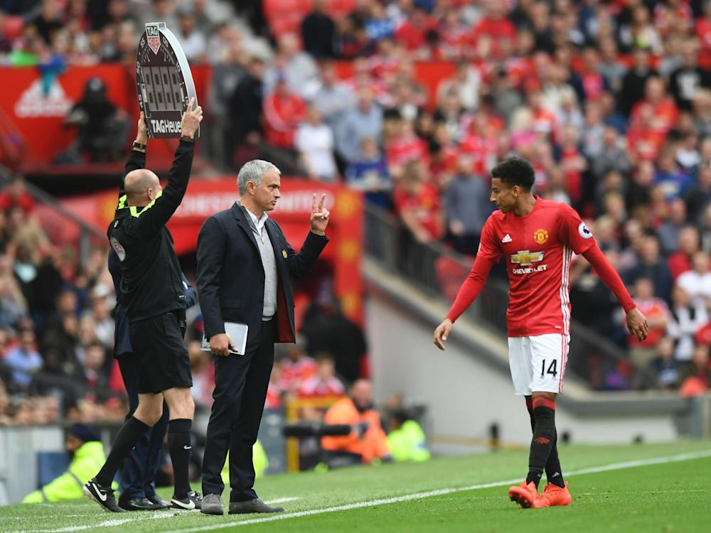 Mourinho was pleased Lingard decided to sign a contract extension: Getty