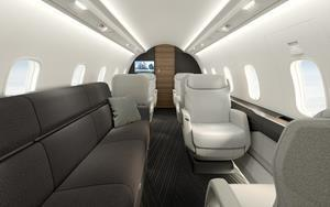 New Challenger 3500 aircraft offers innovative technology features from cockpit to cabin that further define Challenger's leadership status