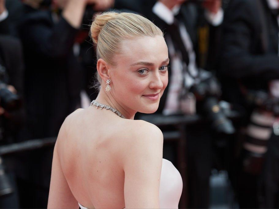 "Dakota Fanning attends the screening of ""Once Upon A Time In Hollywood"" at the 72nd annual Cannes Film Festival in 2019."