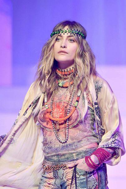 PHOTO: Paris Jackson walks the runway during the Jean-Paul Gaultier Haute Couture Spring/Summer 2020 show as part of Paris Fashion Week at Theatre Du Chatelet on Jan. 22, 2020 in Paris. (Dominique Charriau/WireImage/Getty Images)
