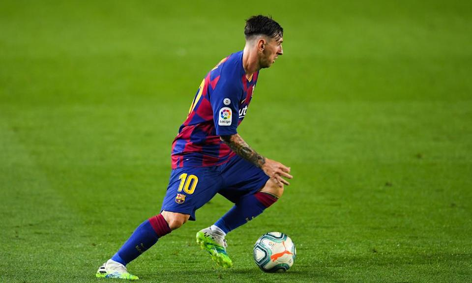 Lionel Messi topped the Spanish scoring charts for a seventh time.