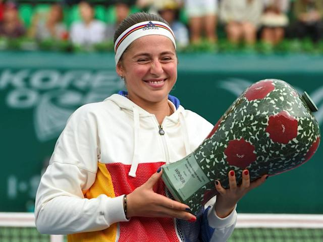 Jelena Ostapenko on last year's French Open success and coping with her new-found fame