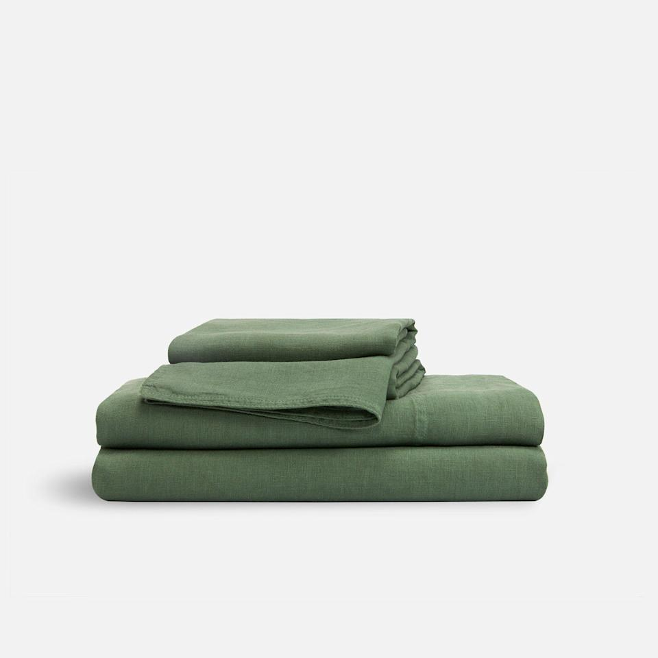 "<p><strong>Brooklinen</strong></p><p>brooklinen.com</p><p><a href=""https://go.redirectingat.com?id=74968X1596630&url=https%3A%2F%2Fwww.brooklinen.com%2Fproducts%2Flinen-hardcore-sheet-bundle&sref=https%3A%2F%2Fwww.goodhousekeeping.com%2Fhome-products%2Fg33088132%2Fbrooklinens-4th-of-july-sale-starts-now%2F"" rel=""nofollow noopener"" target=""_blank"" data-ylk=""slk:SHOP NOW"" class=""link rapid-noclick-resp"">SHOP NOW </a></p><p><del>$249—$528</del><strong><br>$158.73—$333.60</strong></p><p>Get your bedroom summer-ready with some lightweight, linen sheets. Brooklinen's even slashing the prices of its limited-edition colors. (Translation: It's your only chance to score these hues at a steep discount.) </p>"