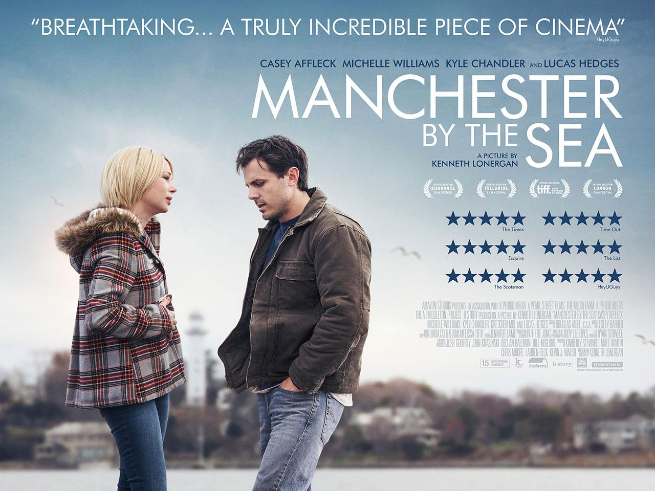 'Manchester By The Sea' UK quad poster (Credit: Studiocanal)