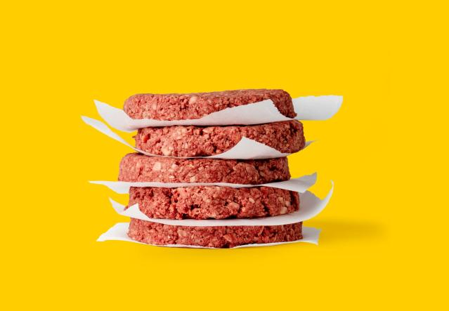 With baseball opening day coming, the Oakland Alameda Coliseum, home of the Oakland A's, will be selling meatless Impossible Burger to fans in their first season games.