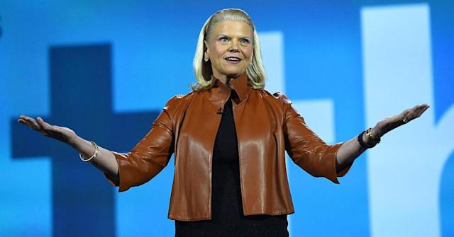 IBM CEO Gini Rometty. (Ethan Miller | Getty Images)