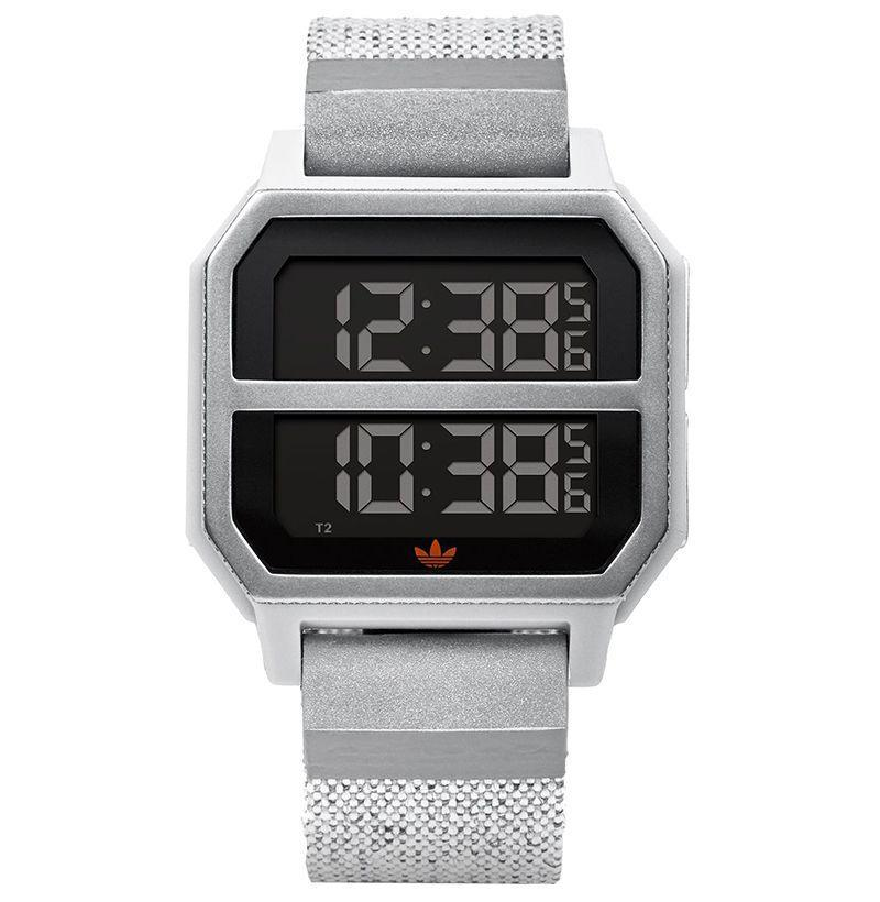 """<p><strong>Adidas</strong></p><p>adidaswatches.com</p><p><strong>$2.41</strong></p><p><a href=""""https://www.adidaswatches.com/us/en/archive_r2/Z16.html"""" rel=""""nofollow noopener"""" target=""""_blank"""" data-ylk=""""slk:Buy"""" class=""""link rapid-noclick-resp"""">Buy</a></p><p>This watch is inspired by Adidas sneakers originally released in 1980 to keep nighttime runners safe. If dad's still jogging at night—or if he just likes the athletic aesthetic—it's the perfect gift.</p>"""