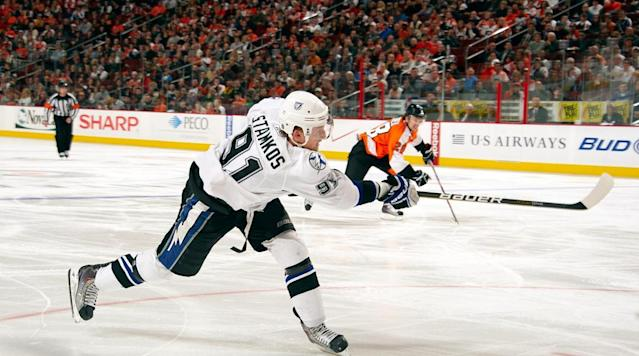 <p>After a rocky start with a team in turmoil, the much-hyped Stamkos finished the 2008-09 season strong (23 goals) and restored confidence that he could become the high-scoring two-way center many expected. In his sophomore season, Stamkos tied 2005 No. 1 overall pick Sidney Crosby for the league lead in goals with 51 (24 on the power play) and finished the year with 94 points, earning status as an elite forward in the NHL. In 2011-12, Stamkos led the league with 60 goals, including 12 game-winners. — Notable picks: No. 2: Drew Doughty, D, Los Angeles Kings | No. 4: Alex Pietrangelo, D, St. Louis Blues | No. 15: Erik Karlsson, D, Ottawa Senators | No. 22, Jordan Eberle, D, Edmonton Oilers | No. 51 Derek Stepan, C, New York Rangers | No. 93: Braden Holtby, G, Washington Capitals</p>