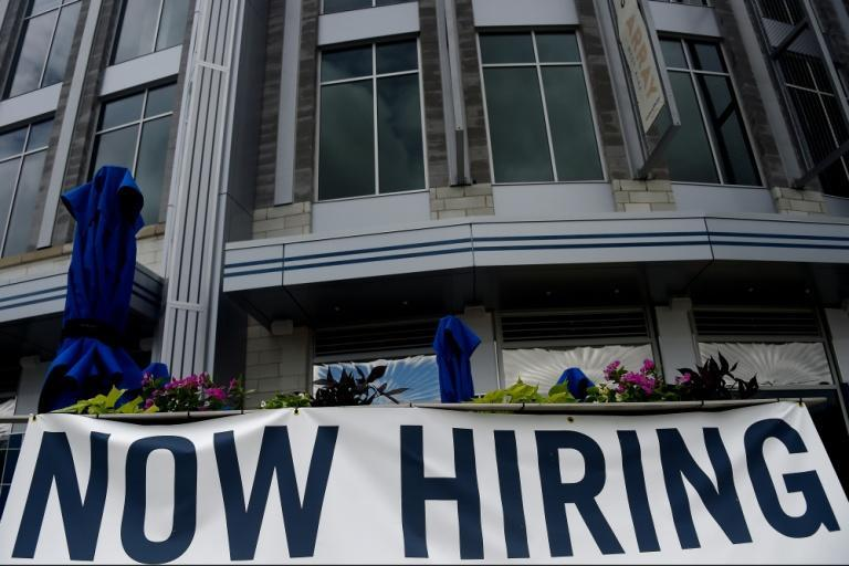 US jobless claims fell for the second straight week but the data showed more people receiving benefits under a program intended for long-term unemployment